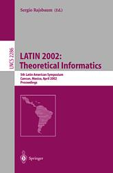 LATIN 2002: Theoretical Informatics
